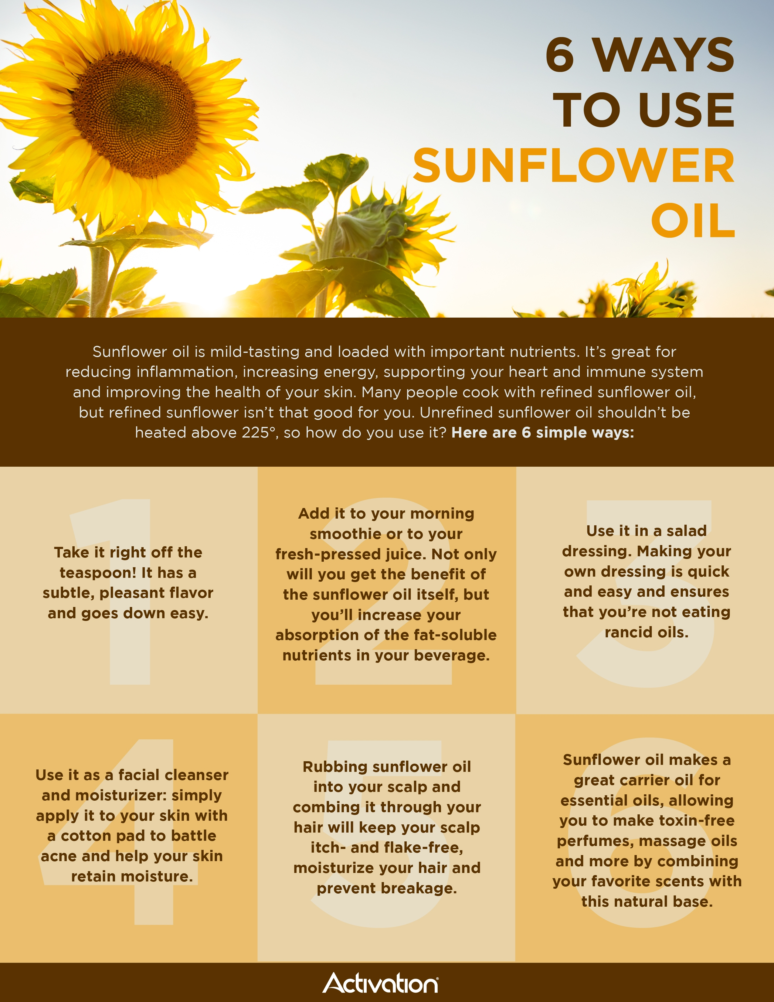 pics 2 Ways To Use Sunflower Seed Oil For Smoother Skin