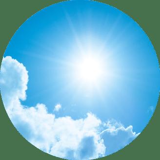 Sun's life energy