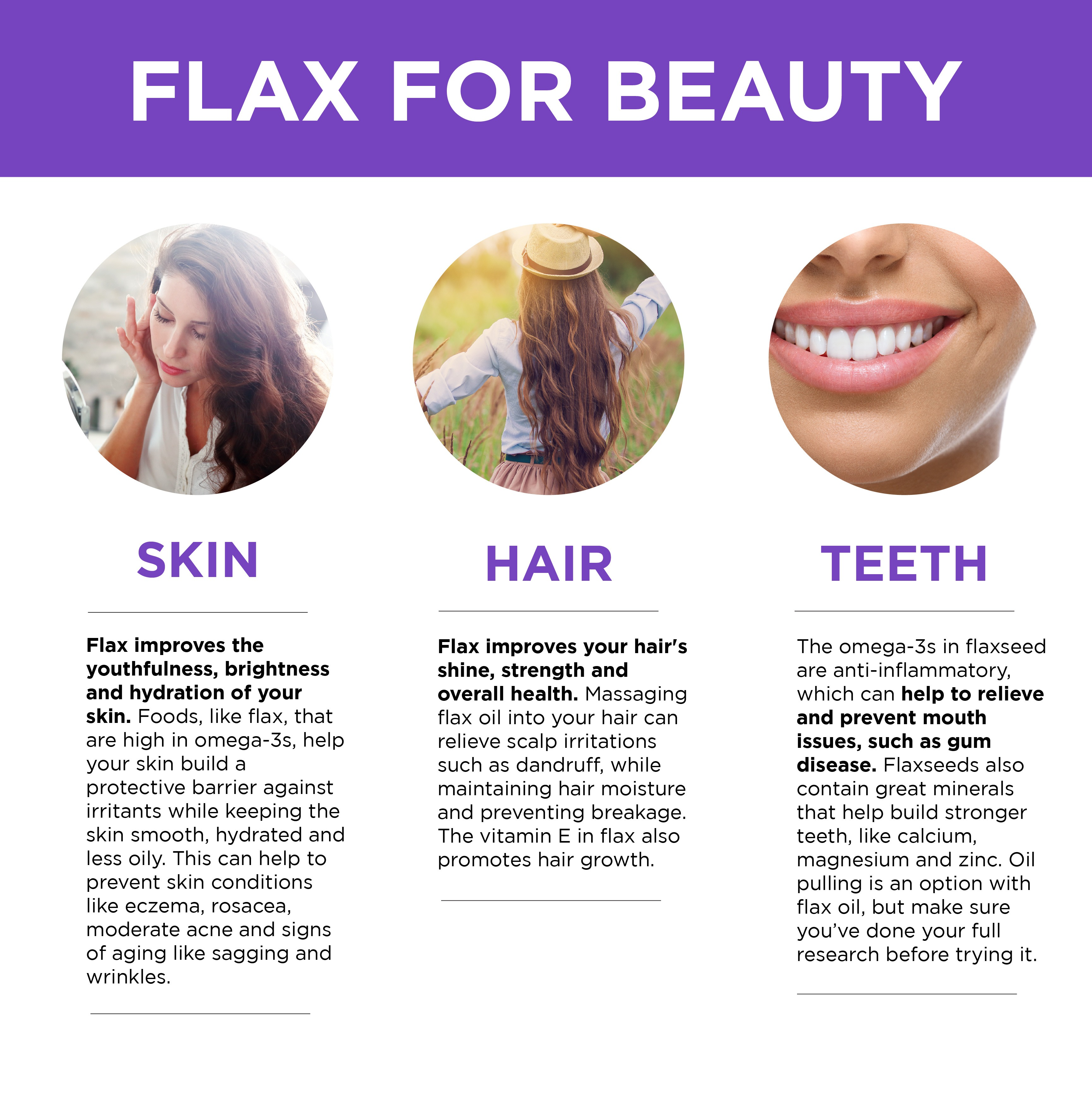 Flax for Beauty